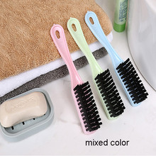 Multifunctional Plastic Long Handle Brush Hanging Soft Fur Shoes Cleaning Brush