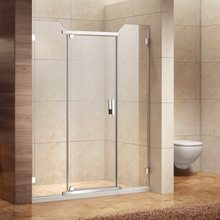 Luxury Bathroom Frameless Shower Partition 10mm Tempered Glass shower cabin enclosure