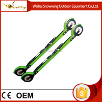 Wholesale fIber glass skates roller ski \ outdoor gymnastic equipment