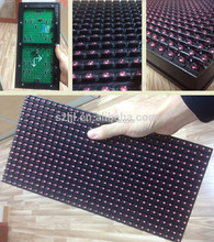 LED display screen advertising letter text message scrolling board p10 red led module 16x32 dots smd 10mm