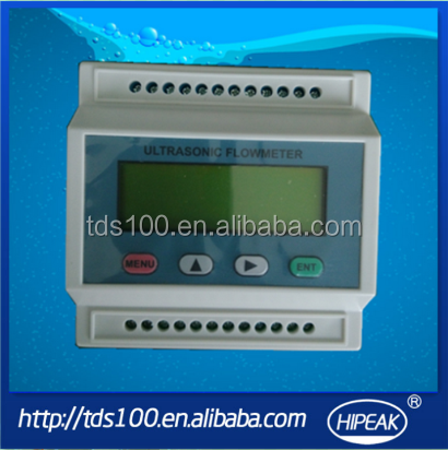 2015 ultrasonic transducer flow meter/flowmeter /cheap ultrasonic flow meter