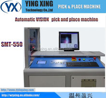 Surface Mount System, LED Vision Pick and Place Machine, IC,SOT,SMT550