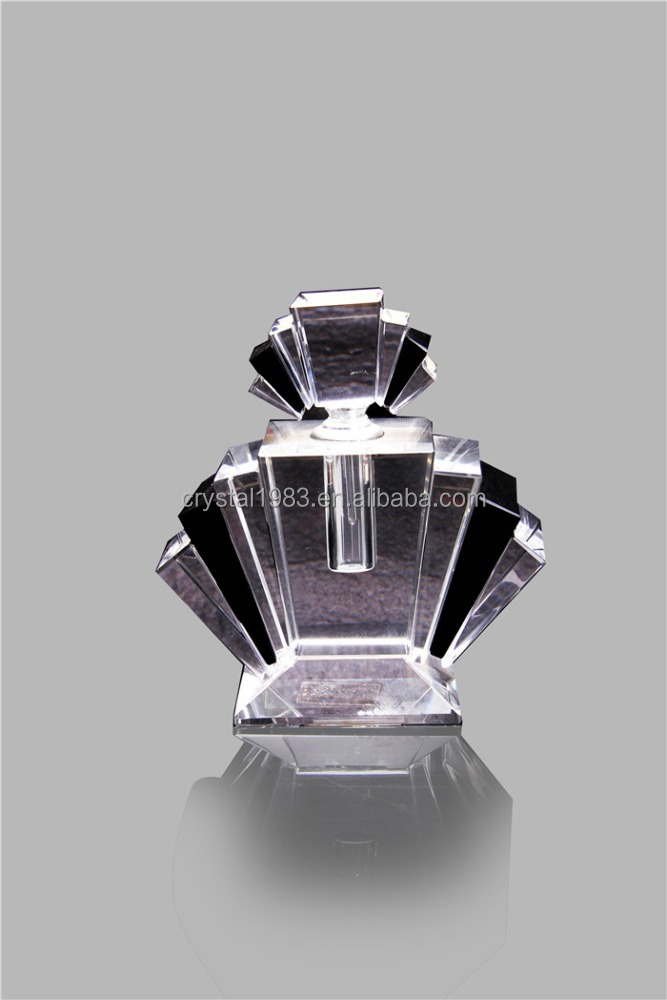 Hot selling crystal perfume glass bottle manufacturer