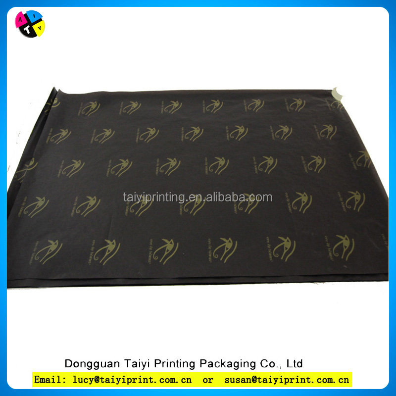 2015 cheap wrapping color printed brands names tissue paper tissue