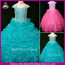 SD734 Pink Ball Gown Pageant Dress Cheap Girl Birthday Party Cupcake Dress