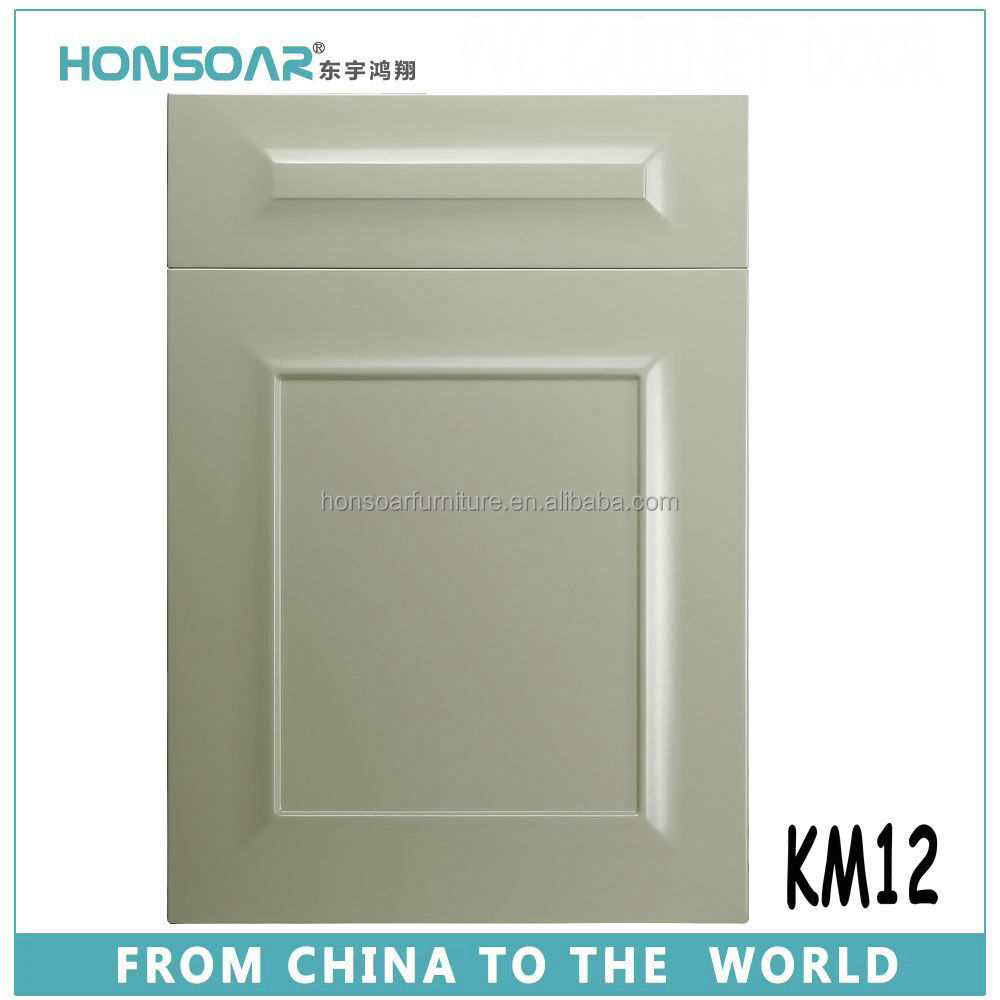 environmental white PVC thermfoil / painting Amercian style cabinet door