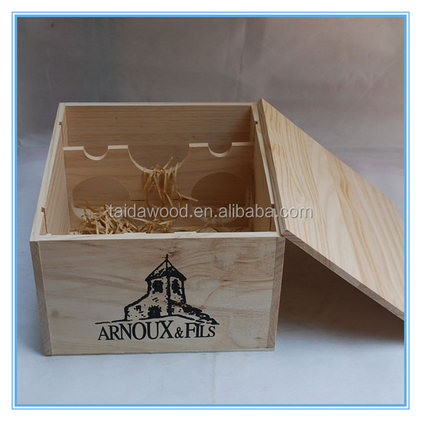 High Quality with Wine Accessories MDF Box Two Bottle Wooden Wine Box