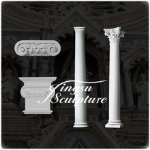 Hot selling marble onyx pedestal column