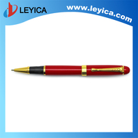 Factory Direct Sales Gold Clip Brass Ball Pen 6 Color Ballpoint Pen Metal Pen with Logo