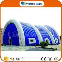 Factory Direct Wholesale mobile office family fun giant white cube inflatable tent outdoor tent inflatable