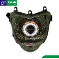 Angel Eye Projector Headlights Motorcycle HID Projector Headlights for Yamaha FZ16