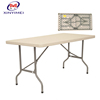 Wholesale Portable HDPE Folding Rectangular Table