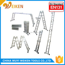 Promotion ladder 2.6M 3.6M 4.7M aluminium telescopic ladder wurth with EN 131 GS approval