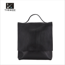 Hot sale Fashion women backpack/genuine leather tote bag / leather lady hand bag