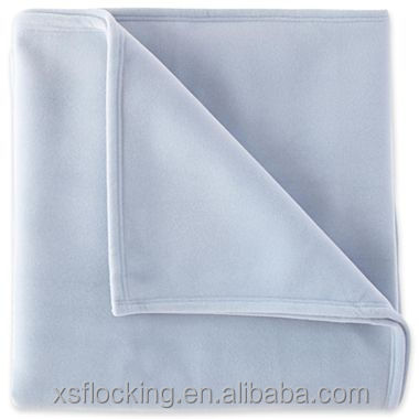 Sponge nylon flocking vellux blanket