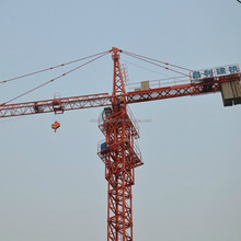 Perfect design 42m jig length mini tower crane low price construction tower crane for sale