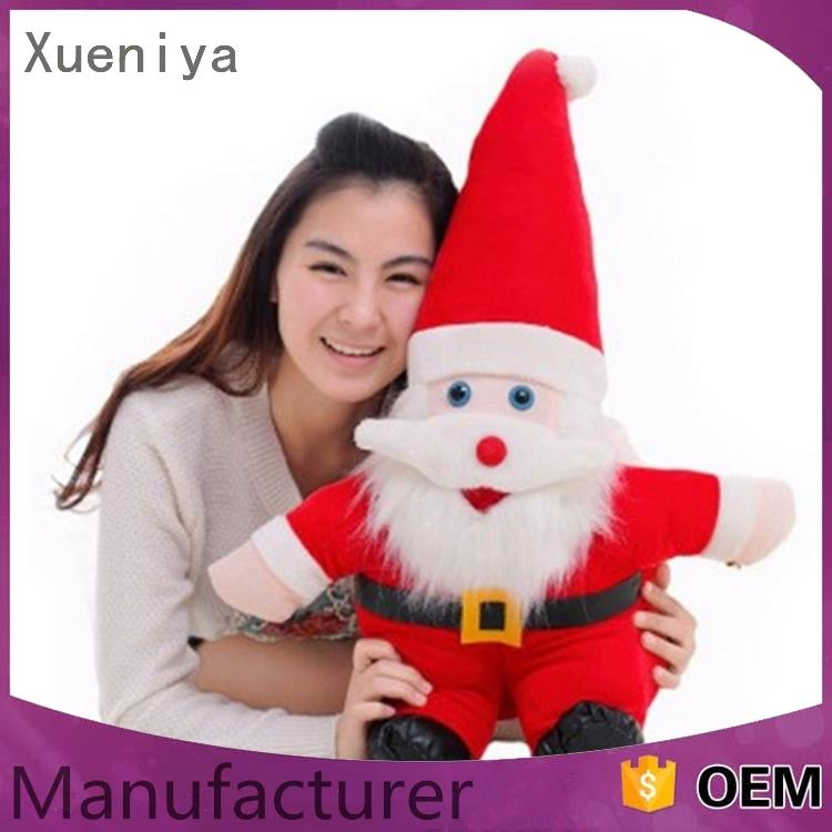 New Arrived cheap eco-friendly moving santa claus