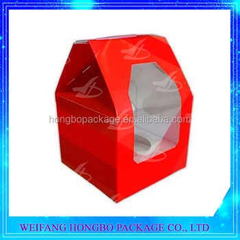 cake box manufacturer,wholesale colored cupcake box