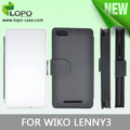 sublimation machine 2d leather stand wallet phone case for WIKO Lenny3
