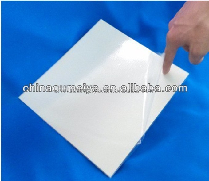 0.5mm self adhesive pvc sheet for photo album making Jinan