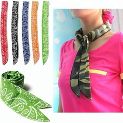 2018 Summer Hot Sale Magic Cool Scarf Bandana Ice Ties Cooling Scarf