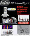 G8 6000lm auto led headlight H4/H7/H8/H11/H16/9005/9006/9012/H13/9004/9007 auto led headlight kit