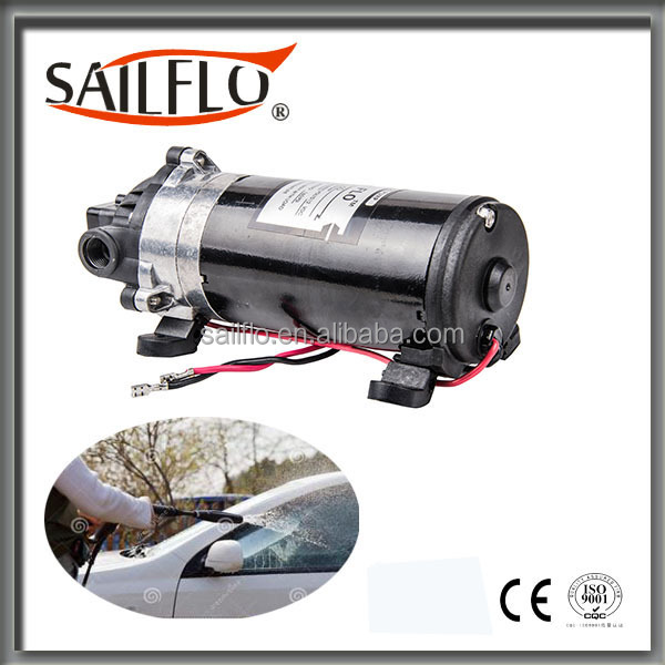 Sailflo battery powered high pressure water pump for sanitizer dispenser