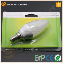 Eastern Europe Candle Lights monochrome led light bulb