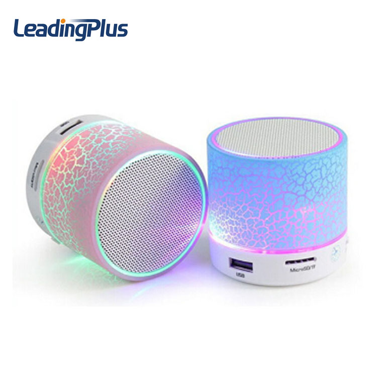 Computer accessories small speaker bluetooth speaker with led light speaker import