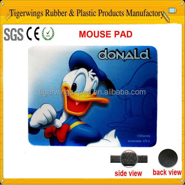 Promotion plastic flat mouse pads,gaming mouse pad mat/Tigerwings