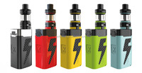2017 Kangertech FIVE 6 Starter Kit 18650mah Battery 222W Kanger Five 6 Vape Box Mod Tiger Coil 8ml