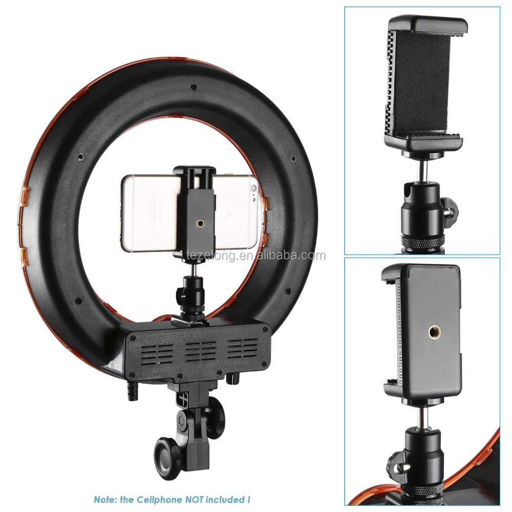 high quality led photography ring light for DSLR camera RL-18 18inch circle video camera light