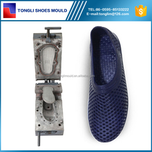 Pcu Airblowing Flats Sandal Plastic Full Shoes Mould For Man
