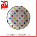 In mould label (IML) with flower design fro plastic plate