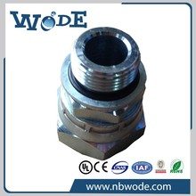 NBWD 2 hours replied NPT/SAE/ORFS/JIC/BSP brass hydraulic hose fitting nipple adapter