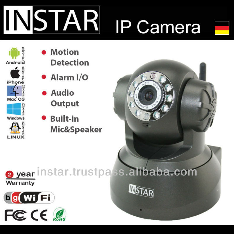 INSTAR IN-3011 Wlan Secrurity Camera with Motion Detection