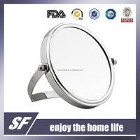 Table Decorative /Cosmetic / Iron / Magnifying / Chromeplate Makeup Mirror