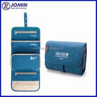 rangement rolling cosmetic display case for girls, ladies toiletry makeup bag