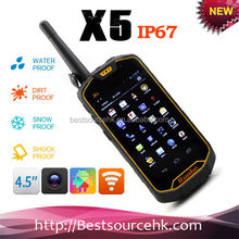 4.3 Inch Anti-Shock Interphone Rugged Runbo X5 Android 4.0 Phone