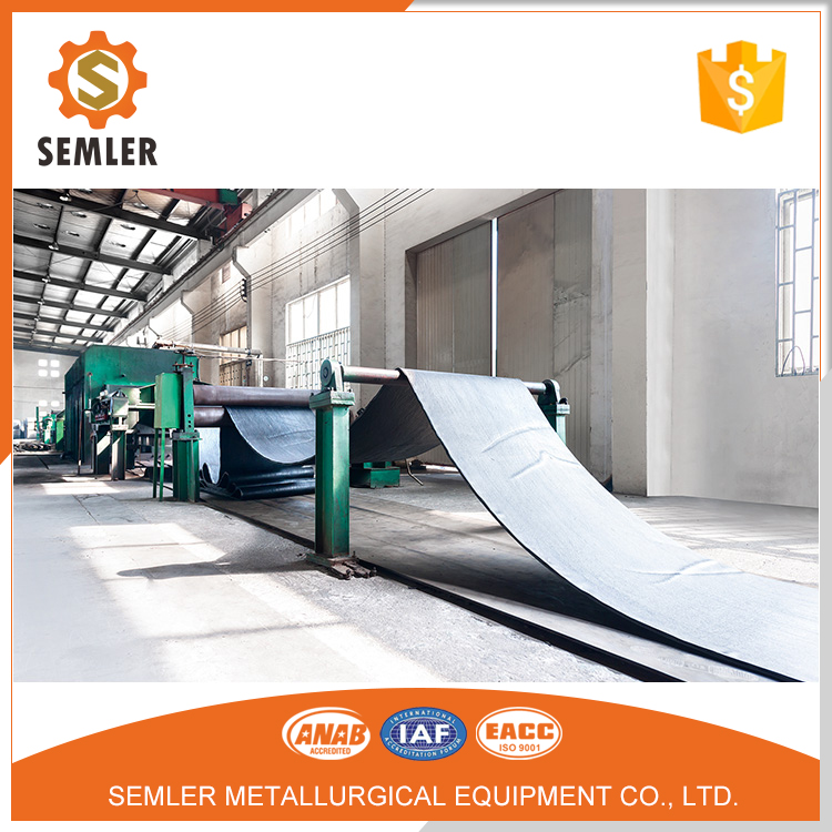 Small Concreteing Round Rubber Conveyor Belt