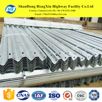 Hot Dip Galvanized Highway Guardrail Road