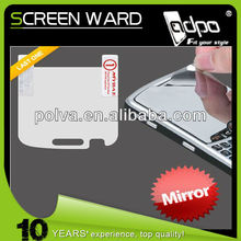 Mirror LCD Screen Cover Protector w/Wipe for BLACKBERRY Bold Touch 9900 9930