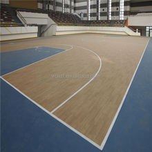 low cost Eco friendly super quality pvc sports floor for basketball from china