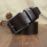 2014 3color high quality mix color leather replica designer belts for men
