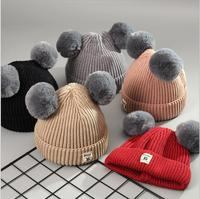 sh20164a Lovely New Winter Children Hat Baby Boys Girls Knitted kids Hats & Caps