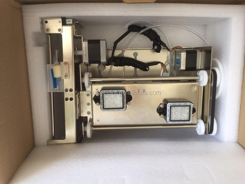 Automatic lifting two dx5 print head original pump capping