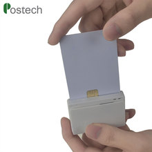 MCR02-BL Bluetooth 2 in 1 Magnetic & Chip Card Reader For Mobile Phone