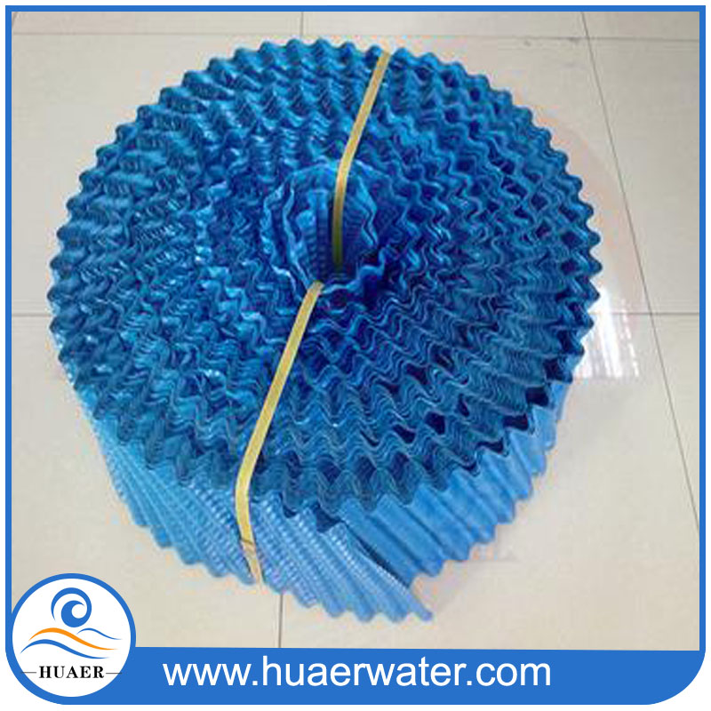 Low price round cooling tower fill pack for water coolant
