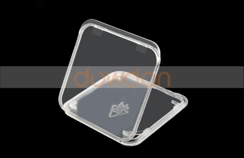 Mini Slim Memory Card Pack Box Transparent Plastic TF SD Card Case