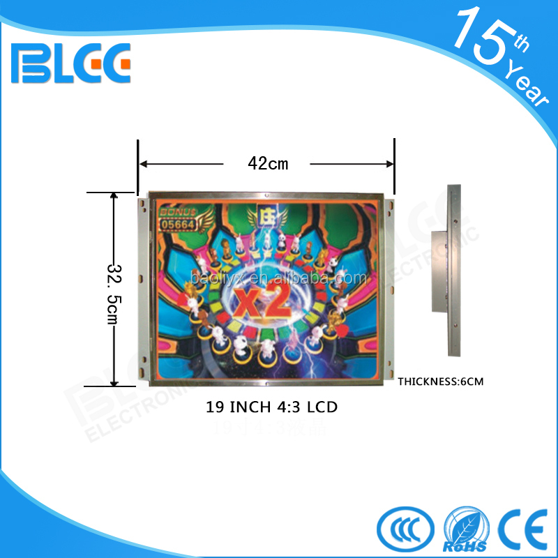 Hot selling 19 inch square LCD monitor Open Frame LCD Monitor
